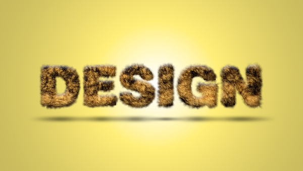view_Fur_Text_Effect_By_photoshopCC1